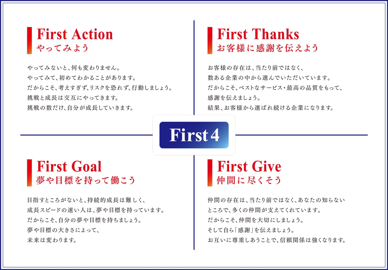 小野自動車工場のFirst4